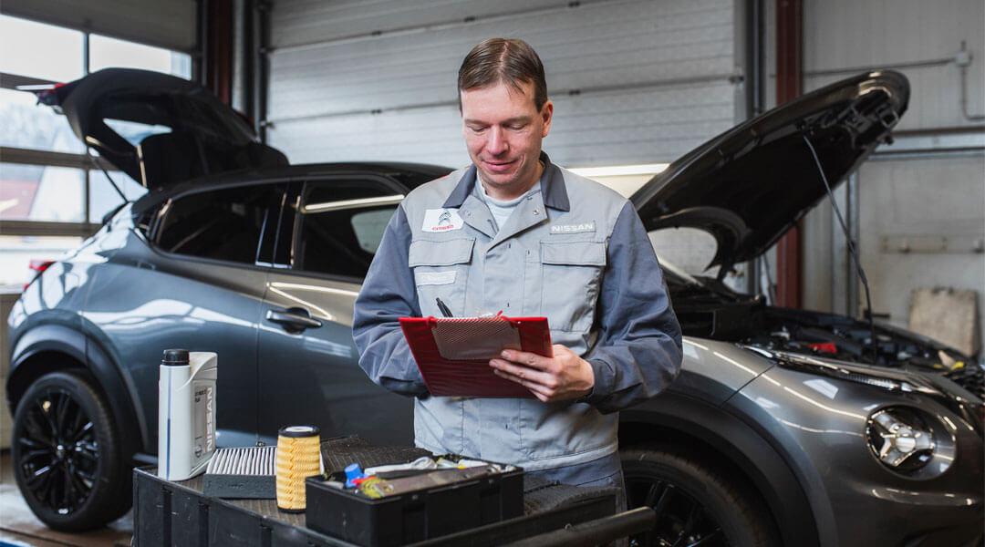 Autowerkstatt - Inspektion im Autohaus Wülpern