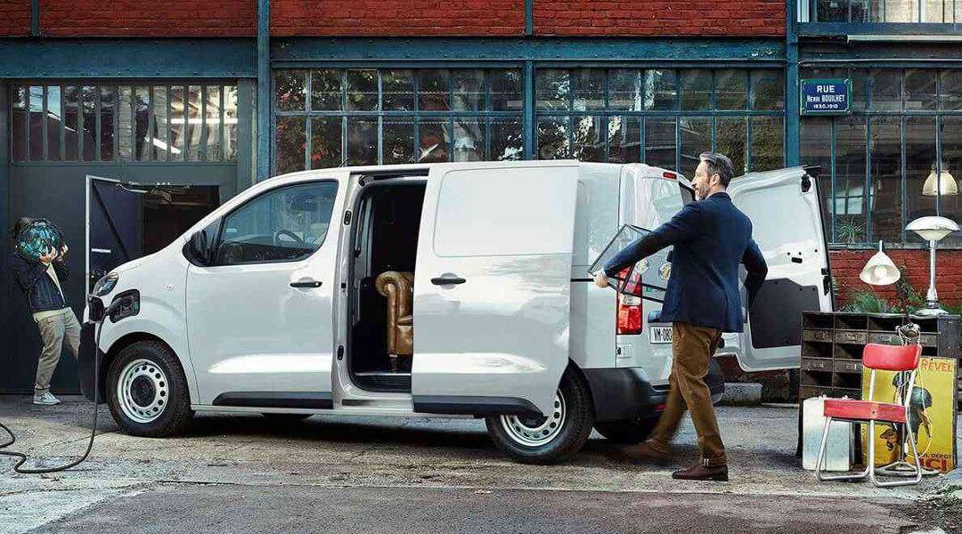 Beladung des Citroën Van e-Jumpy