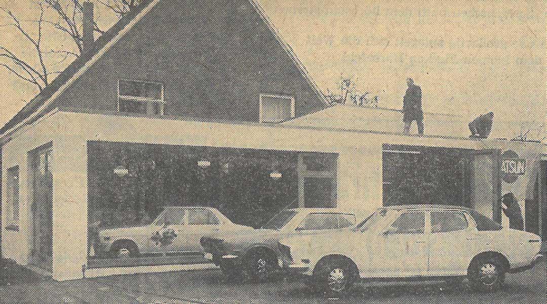 Datsun Vertragshändler 1973 Autohaus Wülpern