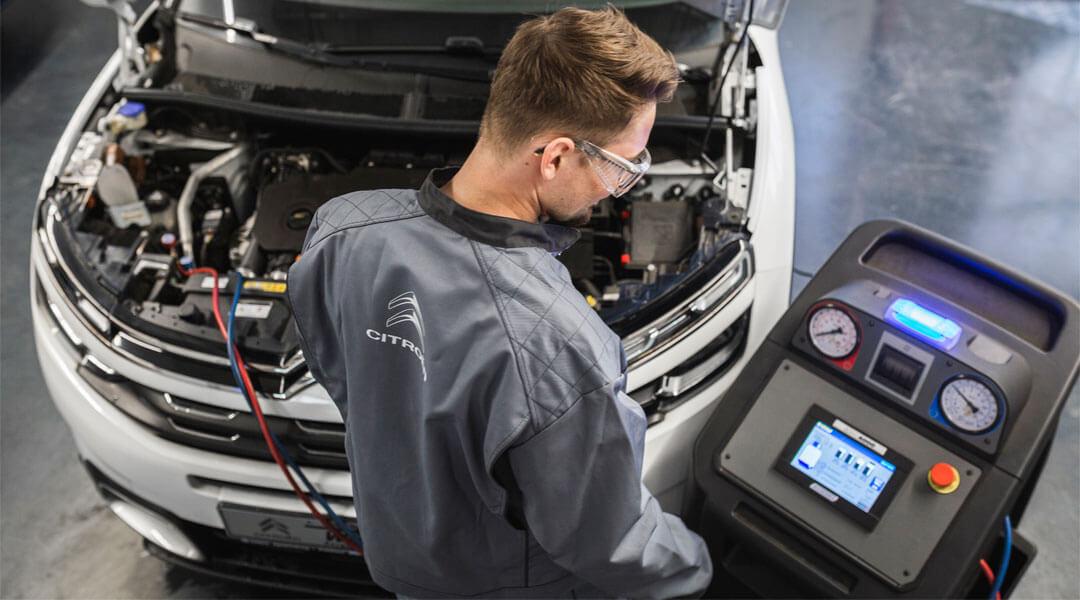 Klimaanlage Wartung im Autohaus Wülpern