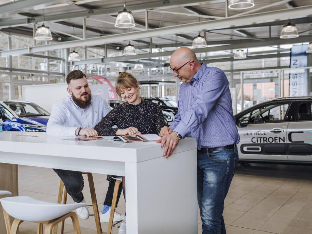 Neuwagen Beratung Citroen im Autohaus Wülpern