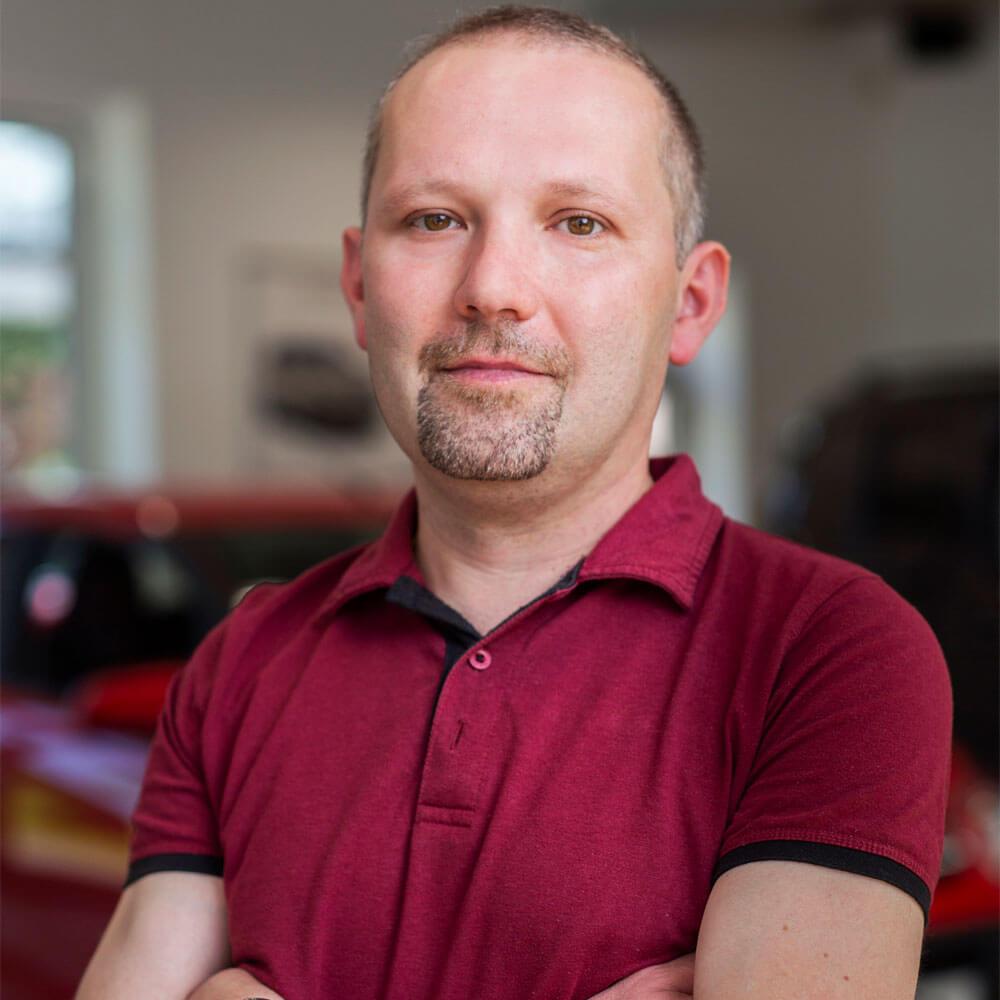 Sergej Vogelmann Werkstattmeister
