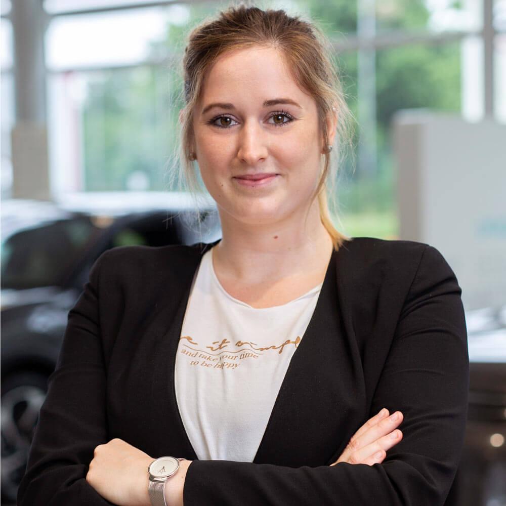 Sophie Treude Serviceassistentin