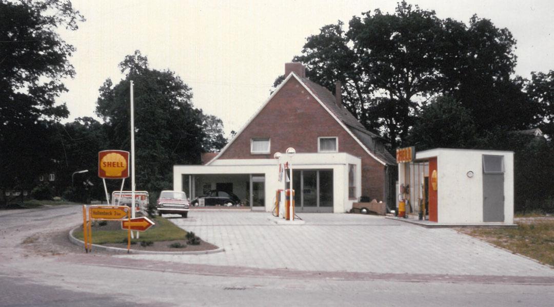 Tankstelle 1966 Autohaus Wülpern